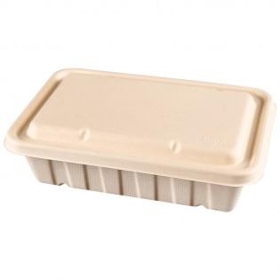 2500ml甘蔗渣餐盒 (原箱200件)