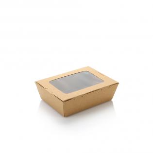 700ml單窗牛皮紙盒 (原箱200件)